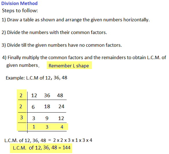 Problems on H C F and L C M - Aptitude test, questions