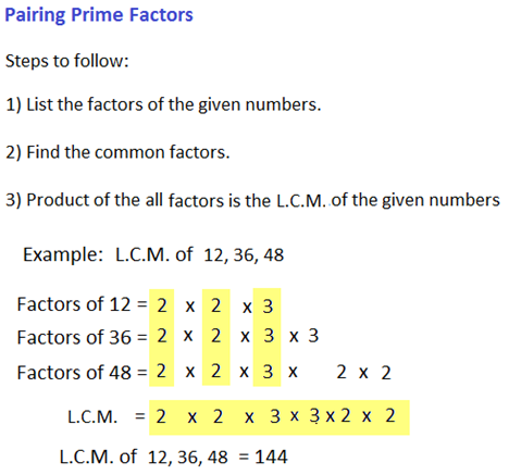 Problems on H C F and L C M - Aptitude test, questions, shortcuts