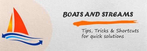 Boats and Streams Aptitude tips,tricks and shortcuts