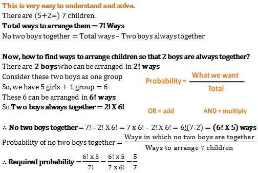 Probability - Quantitative Aptitude (MCQ) questions