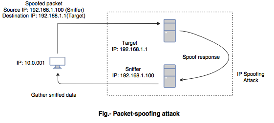 IP spoofing