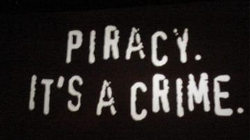 Online piracy of music and movies is bad for creative industry