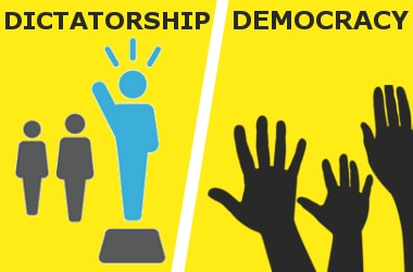strong dictatorship or fragile democracy which is better