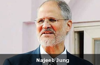 Najeeb Jung resigns from post of LG-Delhi