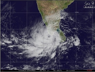 Cyclone Ockhi: Rare recurving cyclone to hit Maharashtra