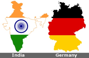 how to call from germany to india