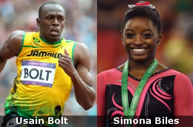 Usain Bolt, Simona Biles win Sportspersons of the year award