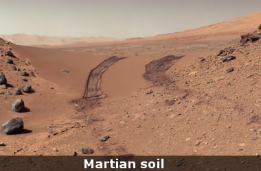 Researchers find Martian soil toxic for life!