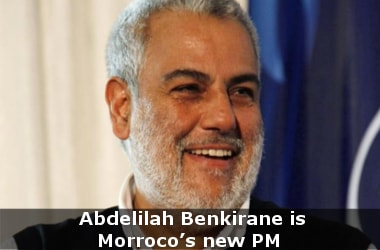 Islamic Justice and Development party leader Abdelilah Bekirane is Morroco's new PM