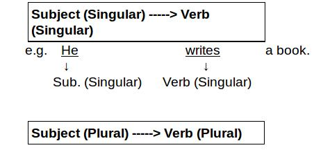 Spot the error subject verb agreement rules examples and verb agreement two platinumwayz