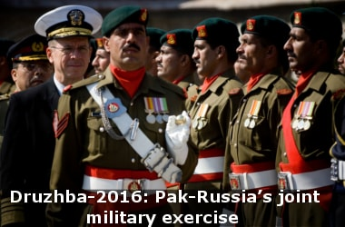 Druzhba-2016: Pak-Russia's joint military exercise