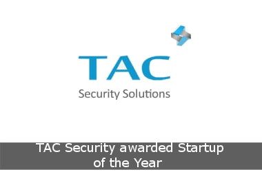 TAC Security awarded Startup of the Year