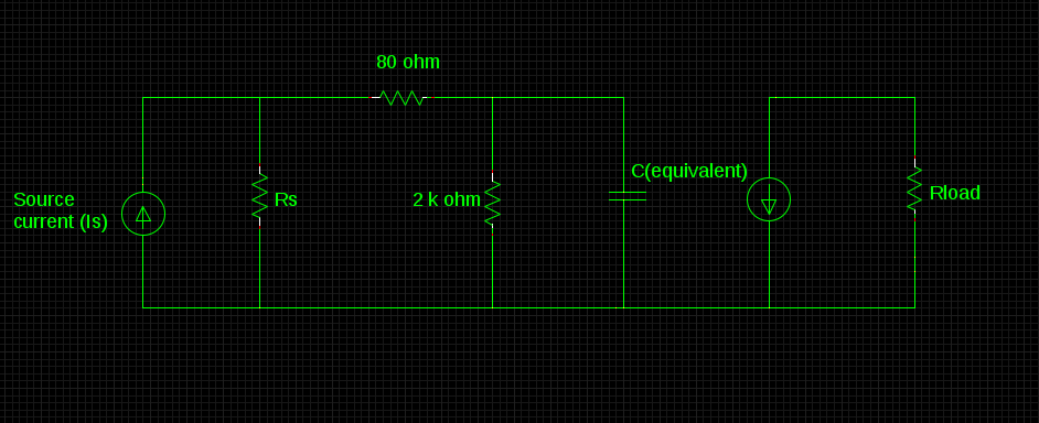 BJT at high frequency - Electronic Engineering (MCQ) questions & answers